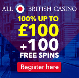 All British Casino Bonus Offer