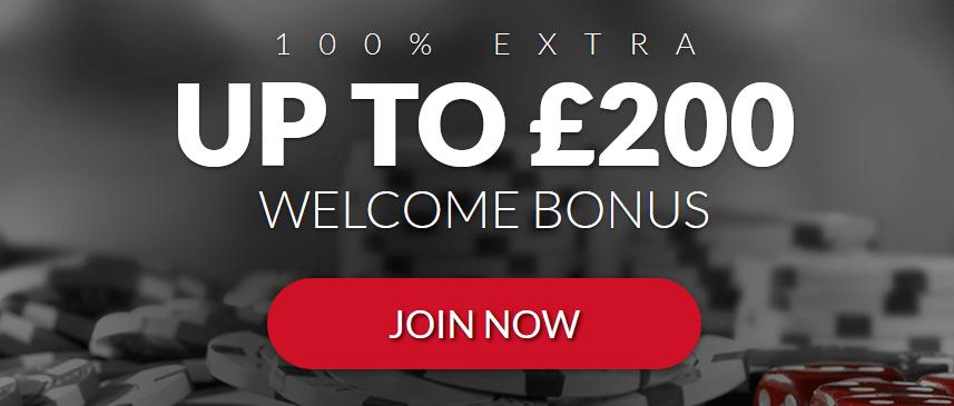 £200 Bonus Mansion Casino